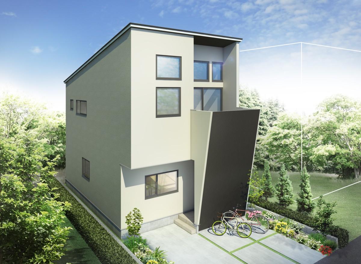 アトリエ建築士が設計したデザイナーズ住宅♪